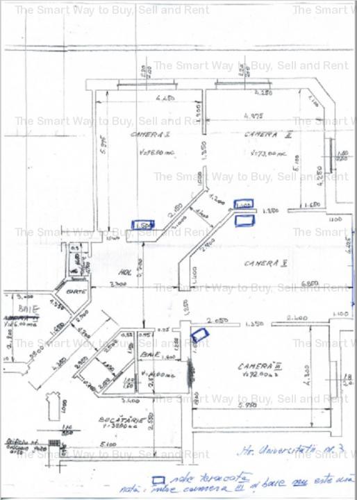 Vand apartament 4 camere superfinisat Ultracentral