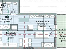 Apartament 40 mp Centru
