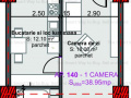 Apartament 2 camere 39 mp Marasti