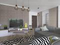 Apartament 2 camere finisat 57 mp in Borhanci