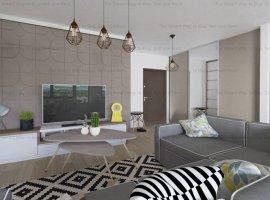 Apartament 2 camere  NOU finisat Borhanci