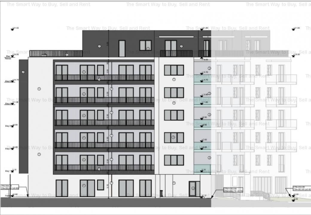 Vand apartament 3 camere bloc nou, zona Lidl