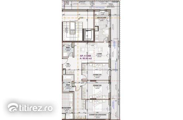Apartament 4 camere NOU Marasti