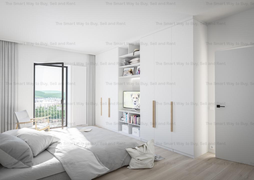 Apartament 1 camere finisat NOU LUX Centru