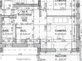 Apartament 2 camere parcare NOU Borhanci