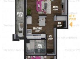 Apartament 2 camere decomandat, bloc nou, Calea Turzii