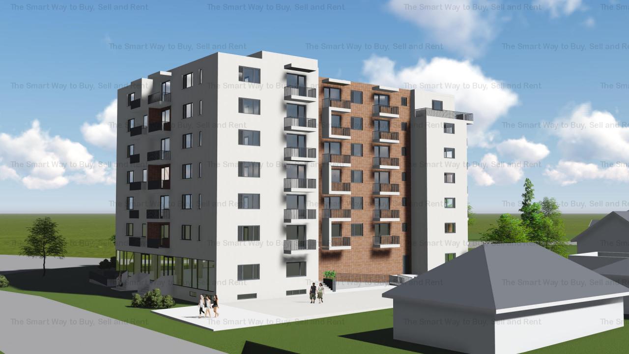 Vand apartament 3 camere bloc nou, Corneliu Coposu