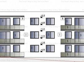 Apartament 2 camere cu gradina si garaj subteran Zorilor