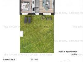 Apartament 3 camere NOU gradina 81 mp Marasti