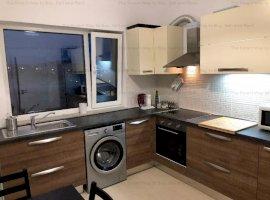 Apartament mobilat modern 2 camere + garaj, zona Buna Ziua