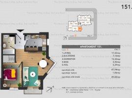 Apartament 2 camere 48 mp Buna Ziua