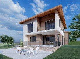 Teren cu proiect case individuale 135/185mp 1250mp