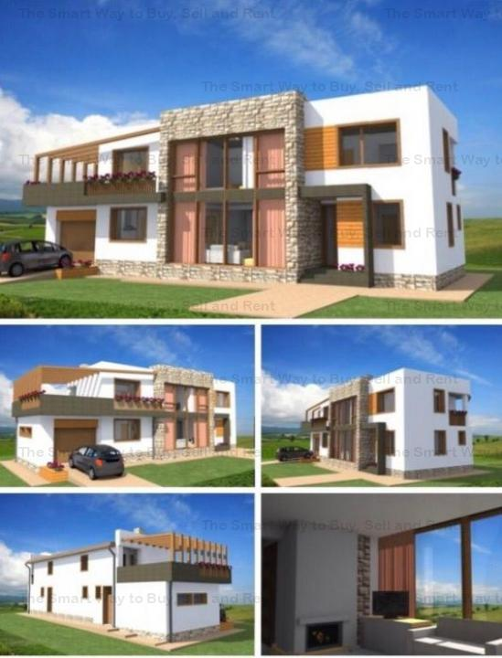 Casa individuala teren 521mp Borhanci