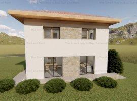 Teren cu autorizatie de constructie casa Chinteni