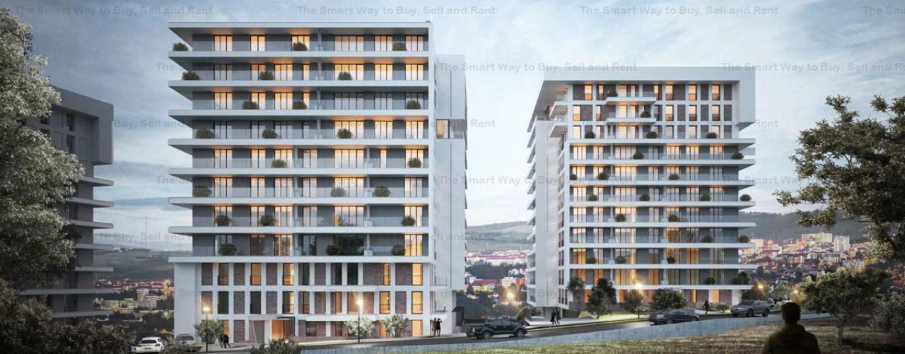 Apartament 3 camere 68mp NOU Zorilor
