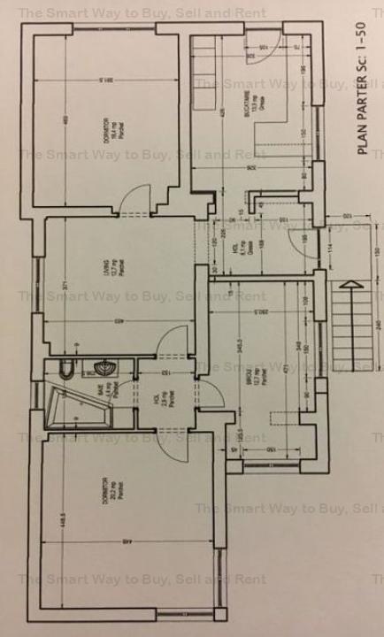 Casa 4 camere cu garaj
