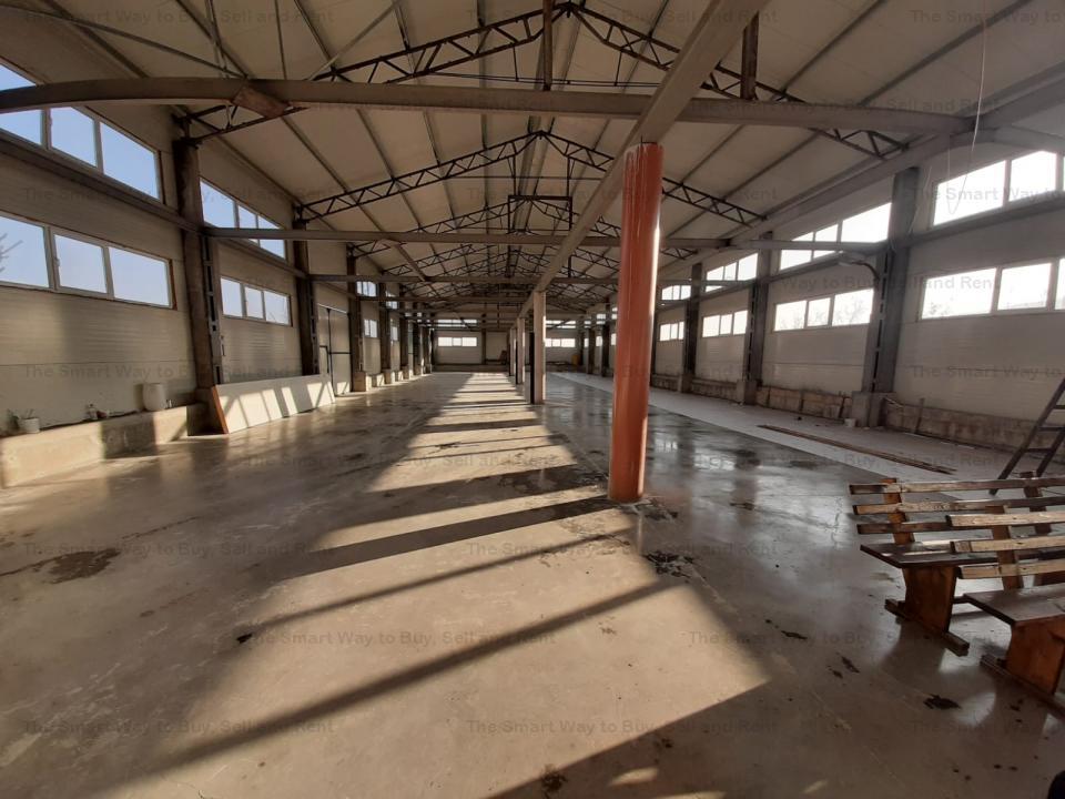 Hala industriala noua in Iris