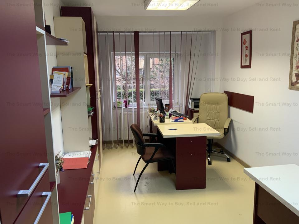 Spatiu de birou, 3 camere 60 mp Dorobantilor