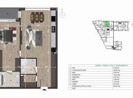 Apartament cu 2 camere confort sporit.