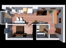 Apartament 2 camere bloc nou Dambul Rotund