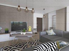 Apartament 2 camere lux 58mp Borhanci