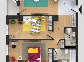Apartament 3 camere BLOC NOU finisat Buna Ziua