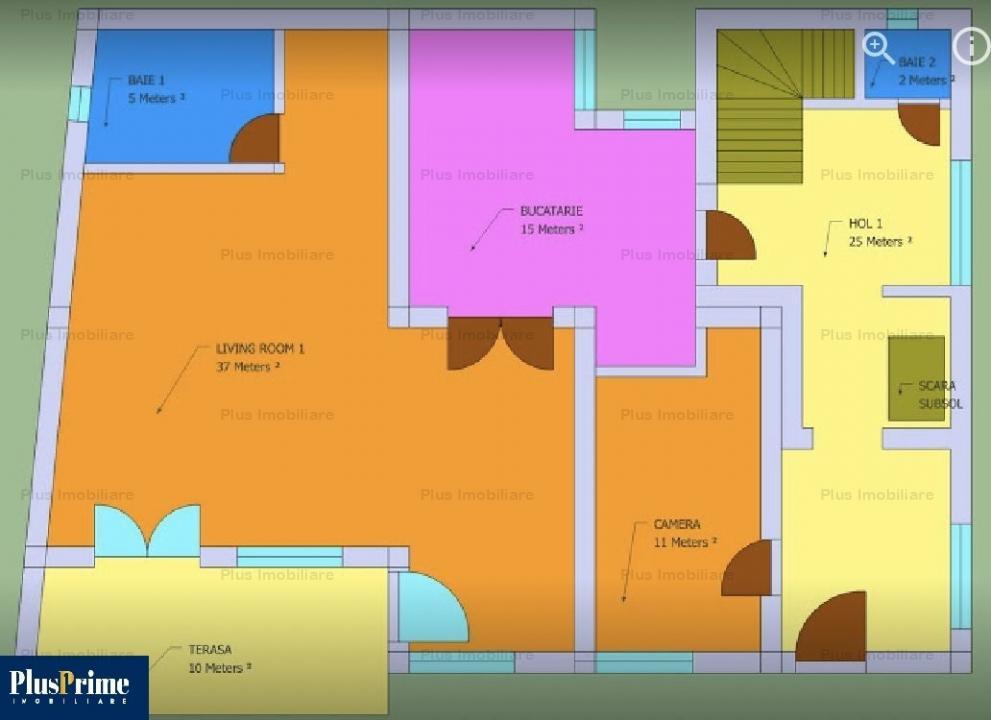 Vila 7 camere pretabila orice activitate in zona Iancului