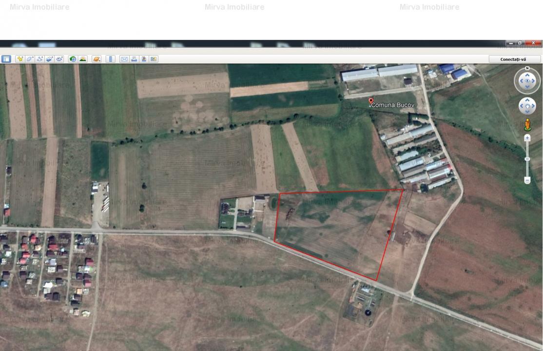 Vanzare 2,6 ha teren intravilan, in Bucov