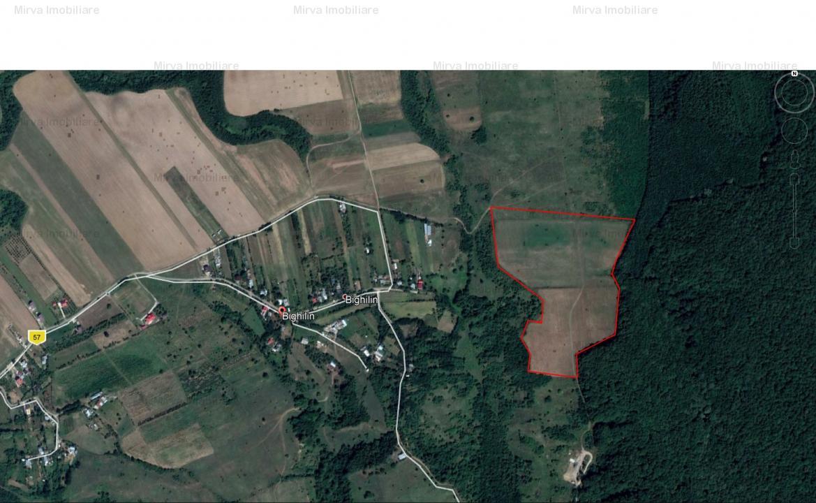 Vanzare 6 ha teren extravilan, in Bighilin