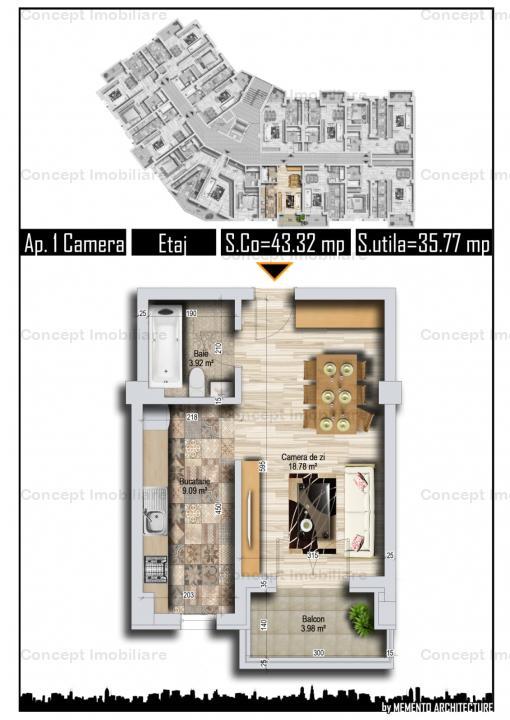 apartamente de 2 si 3 camere