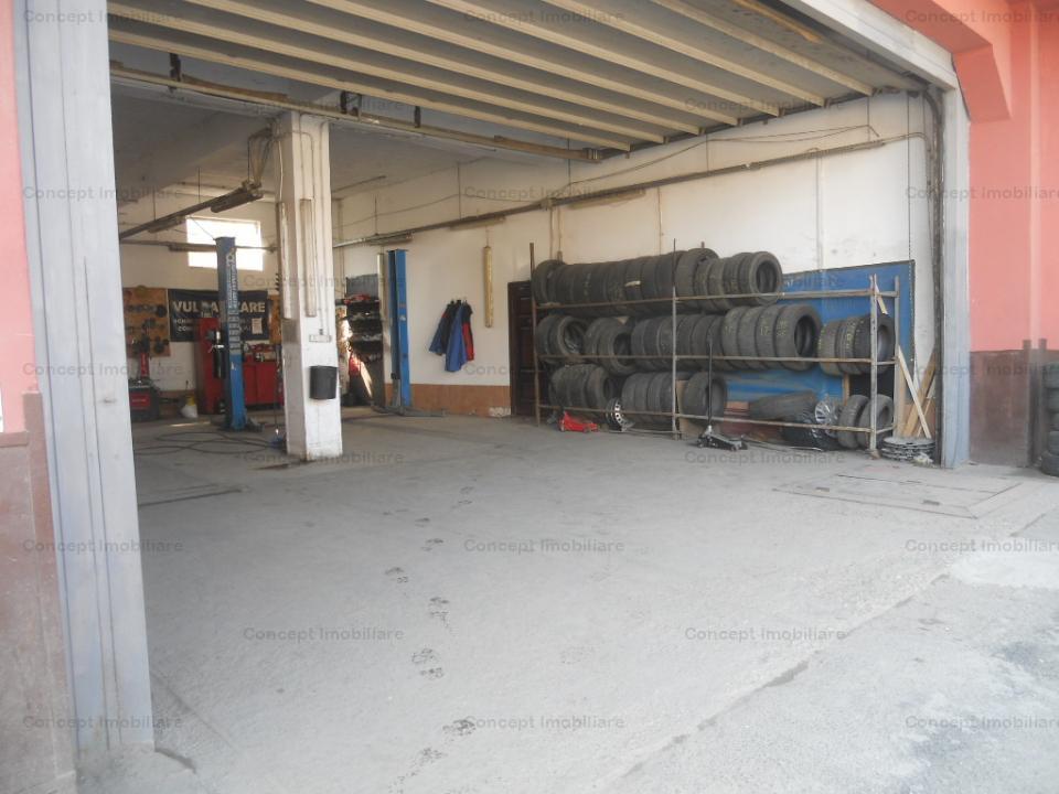 Spalatorie auto, vulcanizare si spatiu rezidential