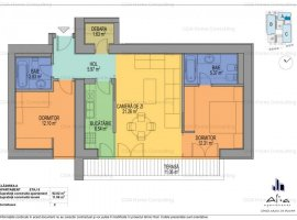 Apartament de inchiriat in complex exclusivist cu doua locuri de parcare