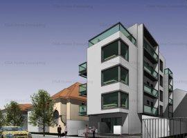 Apartament 3 camere, 80 mp utili, terase 74 mp, loc parcare, 200.000 EUR