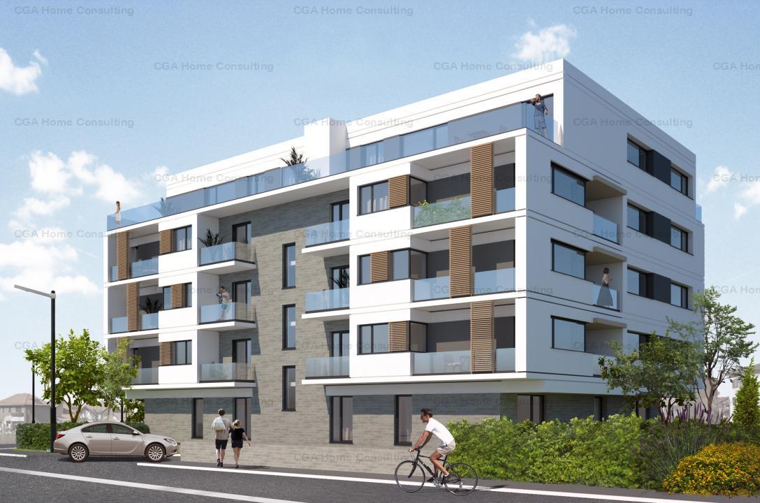 Apartament 2 camere, 55mp utili, curte 144mp,0% COMISION, Pipera