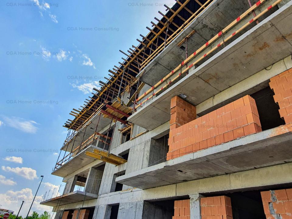 Apartament 3 camere,81 mp utili,terase 8 mp,0% COMISION,Concept Residence Pipera