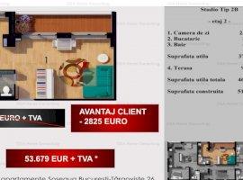 Studio de 51 MPC, 5% DISCOUNT, AVANTAJ CLIENT 2825 EURO