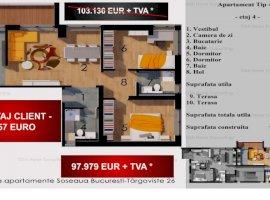 Apartament 3 camere de 93 MPC , 5% DISCOUNT,AVANTAJ CLIENT  5157 EURO