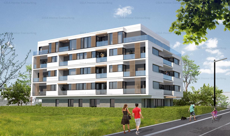 Garsoniera de vanzare, 42 mp utili, terasa 25 mp,Concept Residence Pipera