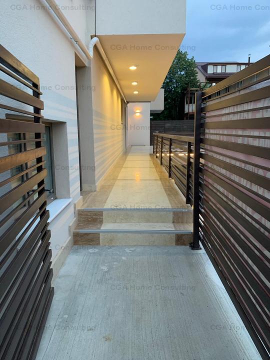 Apartament 3 camere de vanzare 87mp, terase 70mp, parcare, Bucurestii noi.