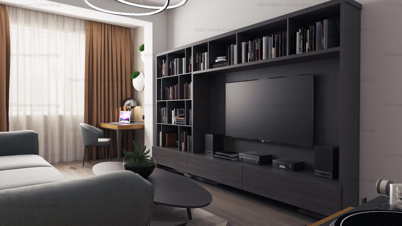Studio de vanzare-44 mp utili-0% COMISION-Ivory Residence Pipera