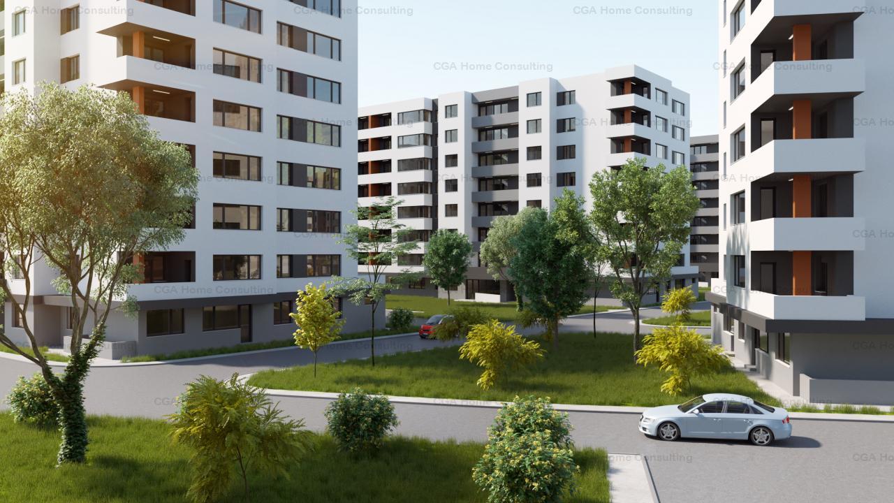 Apartament 2 camere de vanzare-60 mp utili-0% COMISION-Ivory Residence Pipera