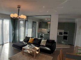 Apartament 2 camere de inchiriat, Promenada, finisaje de lux, 675 eur, Aviatiei