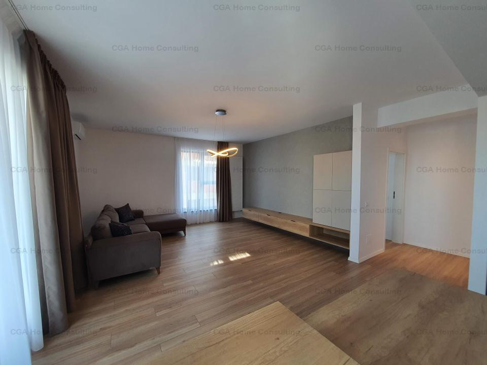 Apartament 3 camere de vanzare, 82 mp utili, utilat, mobilat, Pipera rond OMV