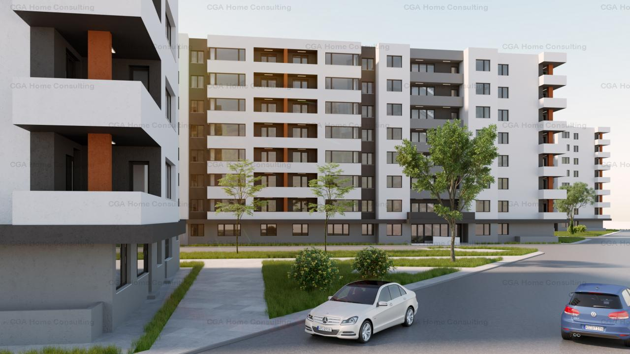 STUDIO decomandat cu balcon de 6mp la Ivory Residence!