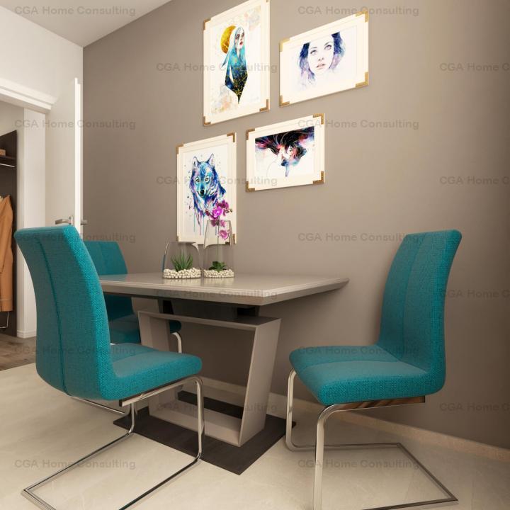 De vanzare STUDIO 44mp la Ivory Residence Pipera!