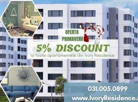 Apartament 2 camere cu VIEW SUPERB la Ivory Residence Pipera