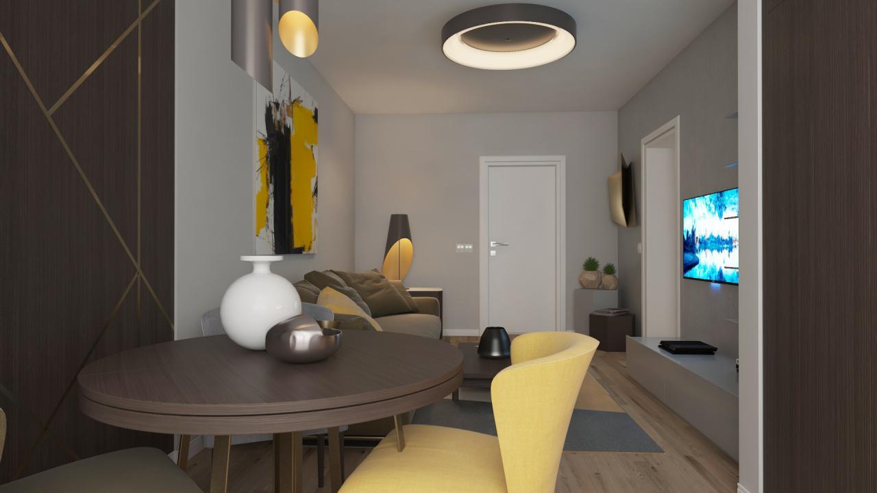 STUDIO etaj 1, suprafata 37mp utili la Ivory Residence Pipera!