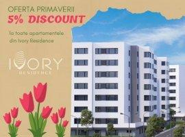 Apartament 2 camere NOU, 81.6 mp, in Pipera, cu dressing impunator