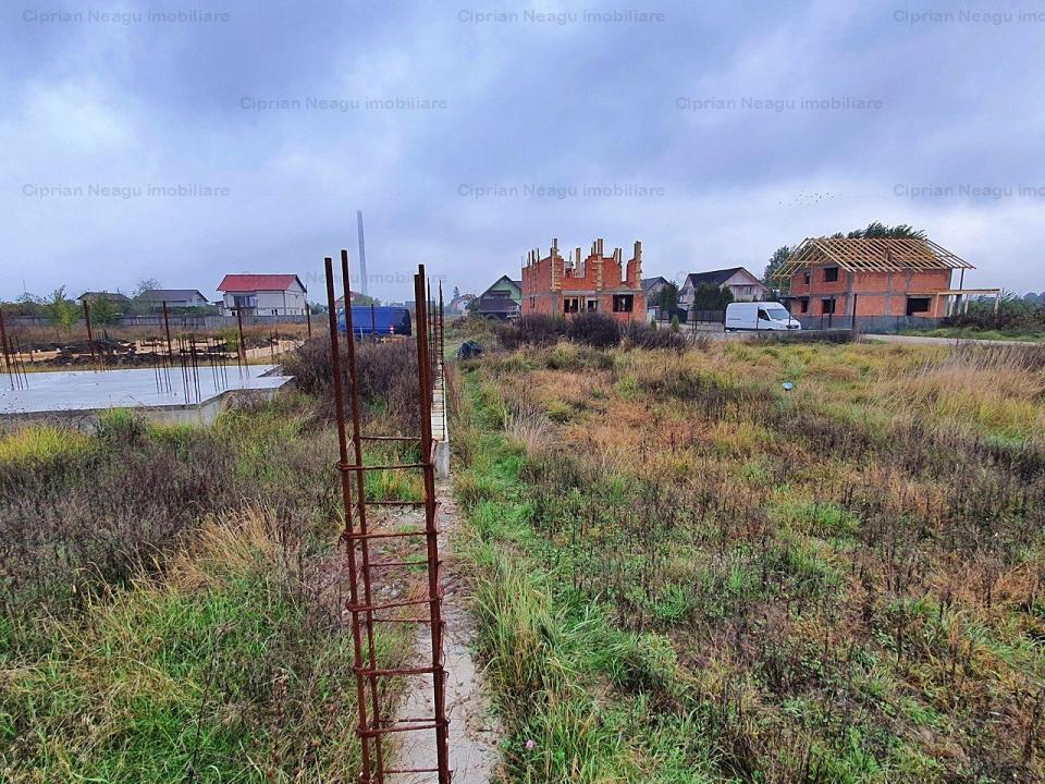 COMISION 0% - Teren si fundatie de casa 2019 in Bradu