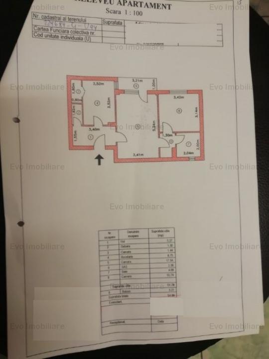 Apartament  2 camere Rahova